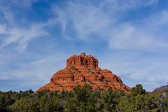 Bell Rock near Sedona, AZ, USA Stock Photos