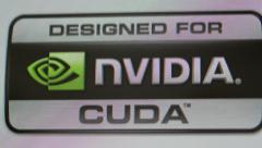 Designed for NVIDIA CUDA Stock Footage