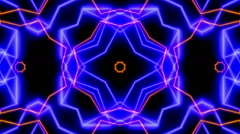 Rotating Lines 3, Kaleidoscope - stock footage