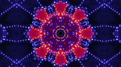 Neon Lights 1, Kaleidoscope - stock footage