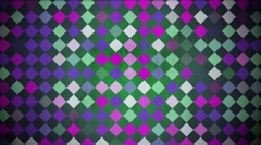 Flashing checkered background - stock footage