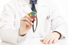 Medicine, healthcare and all things related - stock photo