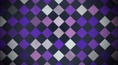 Purple blinking squares Stock Footage