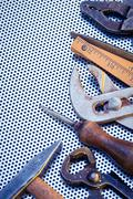 Background with DIY Tools Stock Photos