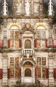 Stock Photo of Renaissance style facade