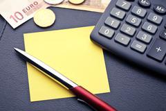 Financial concept or accounting Stock Photos