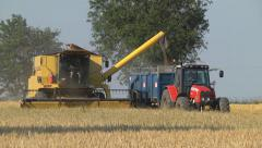 Combine harvester3 Stock Footage