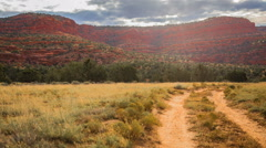 Timelapse Vermilion Cliffs Arizona. Zoom shot Stock Footage