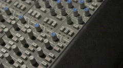 SSL Closeup Pan 2 Stock Footage