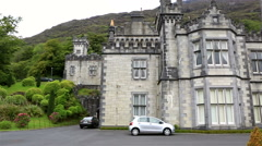 Kylemore Abbey Stock Footage