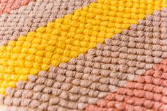 cleaning doormat or carpet texture - stock photo