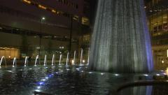 The Fountain of First Baptist Dallas Sanctuary Stock Footage