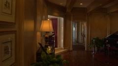 Dallas TV series living room Stock Footage