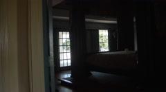 Dallas TV series house interior, filming location Stock Footage