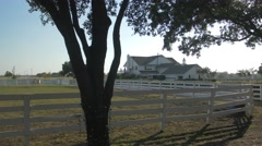 Dallas TV series  filming location, house and ranch Stock Footage