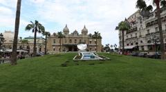 Monaco Monte Carlo Casino Stock Footage