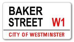 Baker Street - stock illustration