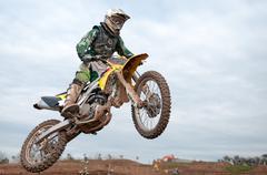 Dirt Bike - stock photo