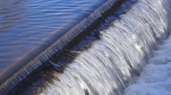 Canal Waterfall 2 - stock footage
