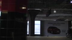 1m20s Stockholm Tunnelbana Journey Silent Stock Footage