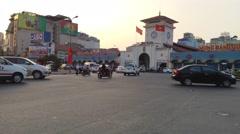 Cho ben tanh time laps Stock Footage
