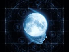 Lunar Attraction - stock illustration