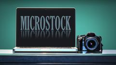 Microstock trend - stock photo