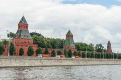 Moscow Kremlin Building in summer time - stock photo