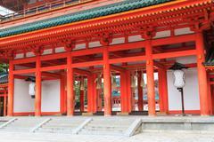 Heian Shrine - stock photo