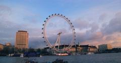 The London Eye | 4K HYPERLAPSE Stock Footage