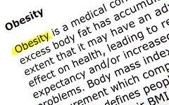Stock Photo of obesity