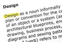 design - stock photo