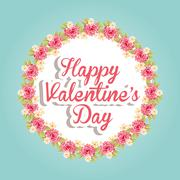 Stock Illustration of happy valentines day design, vector illustration eps10 graphic