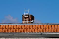 Chimney ladder Stock Photos