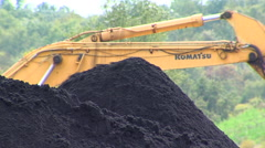 Coal Mining 9 Stock Footage