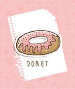 delicious desserts   design, vector illustration eps10 graphic - stock illustration