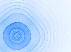 Light blue shape Stock Illustration
