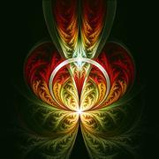 Fantastic fractal - stock illustration