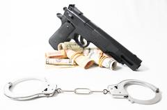 Financial Crime Concept Stock Photos