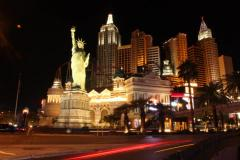 New York Hotel Casino Las Vegas  - Time-lapse Stock Footage