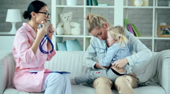 Doctor Visit Stock Footage