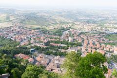 San-Marino Cityscape - stock photo
