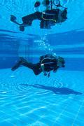 Scuba Diving Training Stock Photos