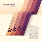 Paper options template vector illustration - stock illustration