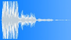 Earthquake hit - explosion, short impact on ground Sound Effect