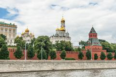 Stock Photo of Moscow Kremlin Building in summer time