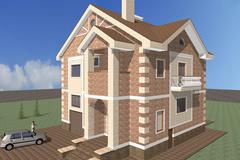 Private Building - stock illustration