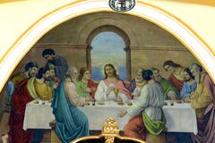 Last Supper - stock photo