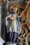 Statue of Saint - stock photo