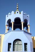 Tunisian traditional roof Stock Photos